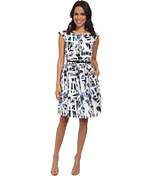 Adrianna Papell - Pintuck-Front Dress