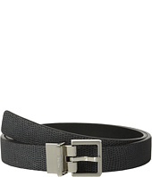 Calvin Klein - 25mm Reversible Flat Strap Embossed Lizard w/ Metallic