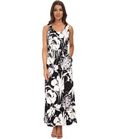 Adrianna Papell - Scoop Neck Maxi Dress