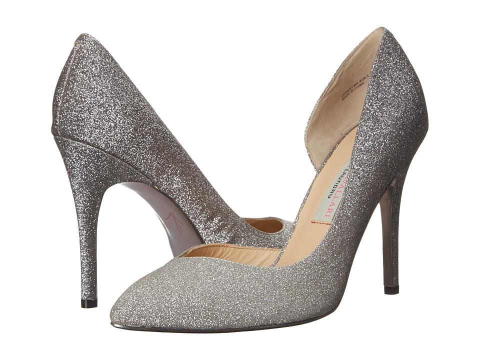 Kristin Cavallari Copertina D Orsay Pump Pewter High Heels
