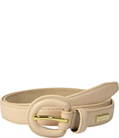 Cole Haan - 23mm Dress Calf Panel w/ Covered Buckle