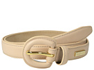 Cole Haan 23mm Dress Calf Panel w/ Covered Buckle