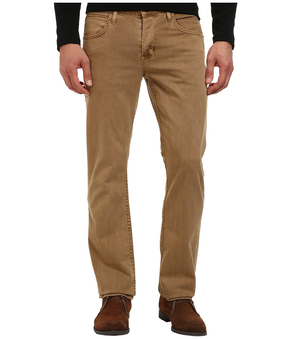 Hudson Byron Straight in Raw Umber Raw Umber Mens Jeans