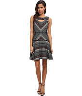 Jessica Simpson - Jacquard Printed Dress