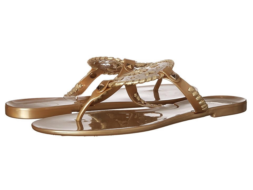 Jack Rogers - Georgica Jelly (Gold) Womens Sandals