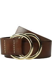 MICHAEL Michael Kors - 50mm Leather Panel Double D Ring Closure