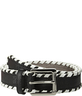 MICHAEL Michael Kors - 32mm Saffiano Belt w/ Whipstitch