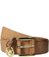 MICHAEL Michael Kors - 38mm Belt w/ Self Wrapped Buckle