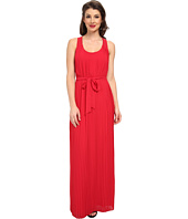 Jessica Simpson - Pleated Chiffon Maxi with Cross Back