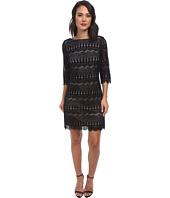 Jessica Howard - 3/4 Sleeve Shift Dress
