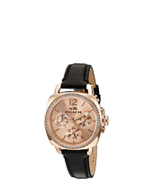 COACH - Boyfriend Small 34mm Leather Strap Watch