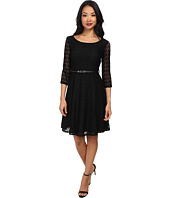 Yumi - Lace Fit Flare Dress