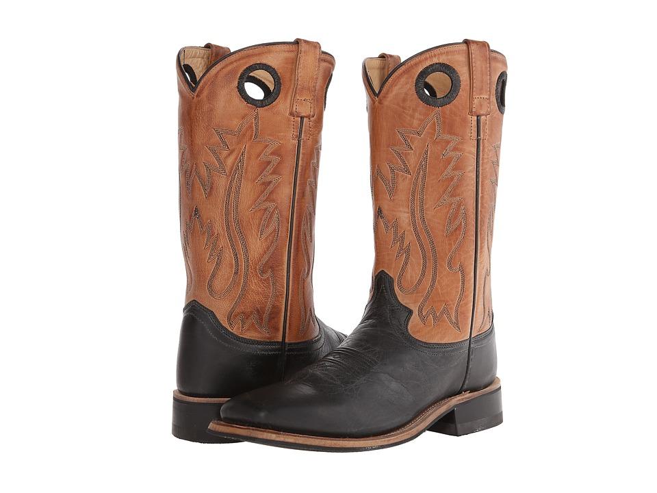 Old West Boots BSM1810 Black/Tan Canyon Cowboy Boots