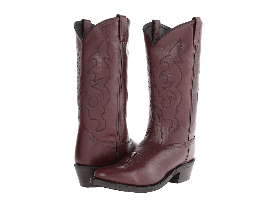 Old West Boots TBM3013 Black Cherry Cowboy Boots