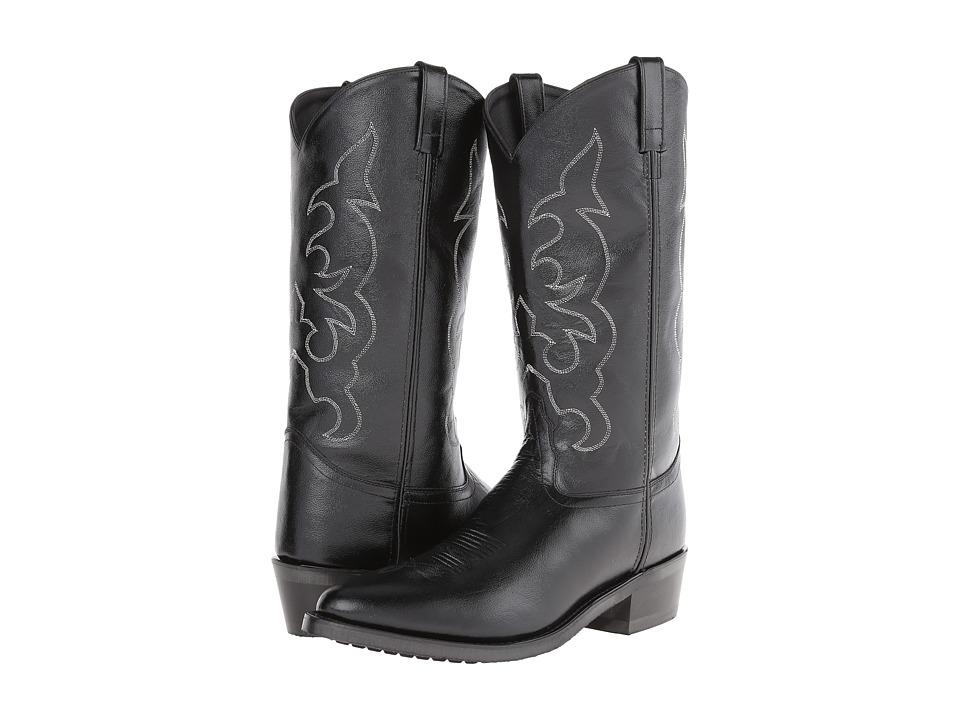Old West Boots TBM3010 Black Cowboy Boots