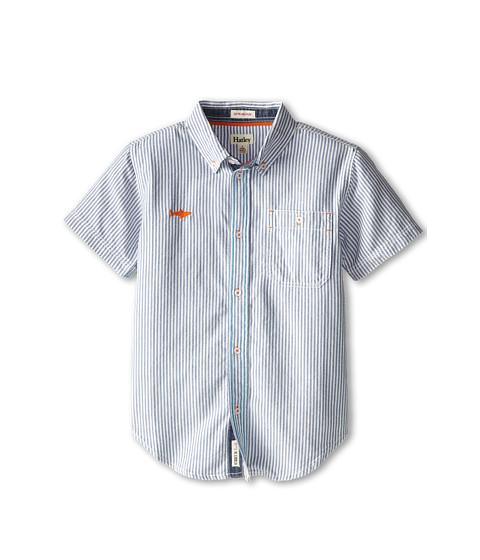 Hatley Kids Ticking Button Up Shirt (Toddler/Little Kids/Big Kids)