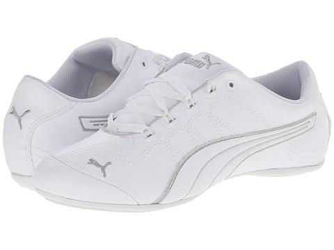 PUMA Soleil v2 Comfort Fun - White/Puma Silver