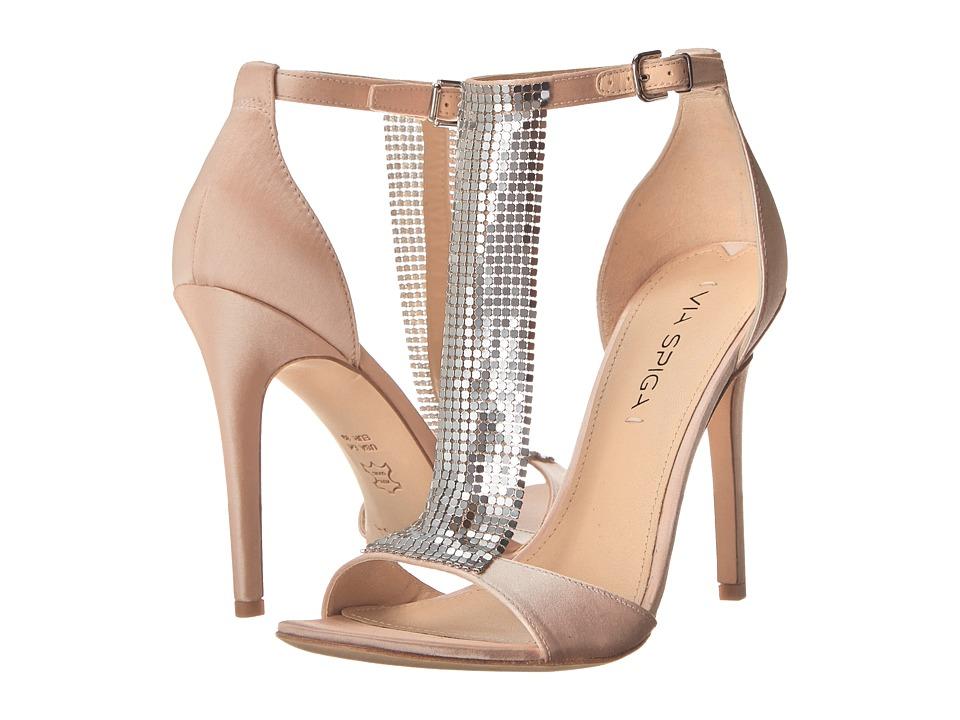 Via Spiga Timone (Champagne Satin) Women's Shoes