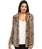 Sam Edelman - Leopard Faux Fur Coat