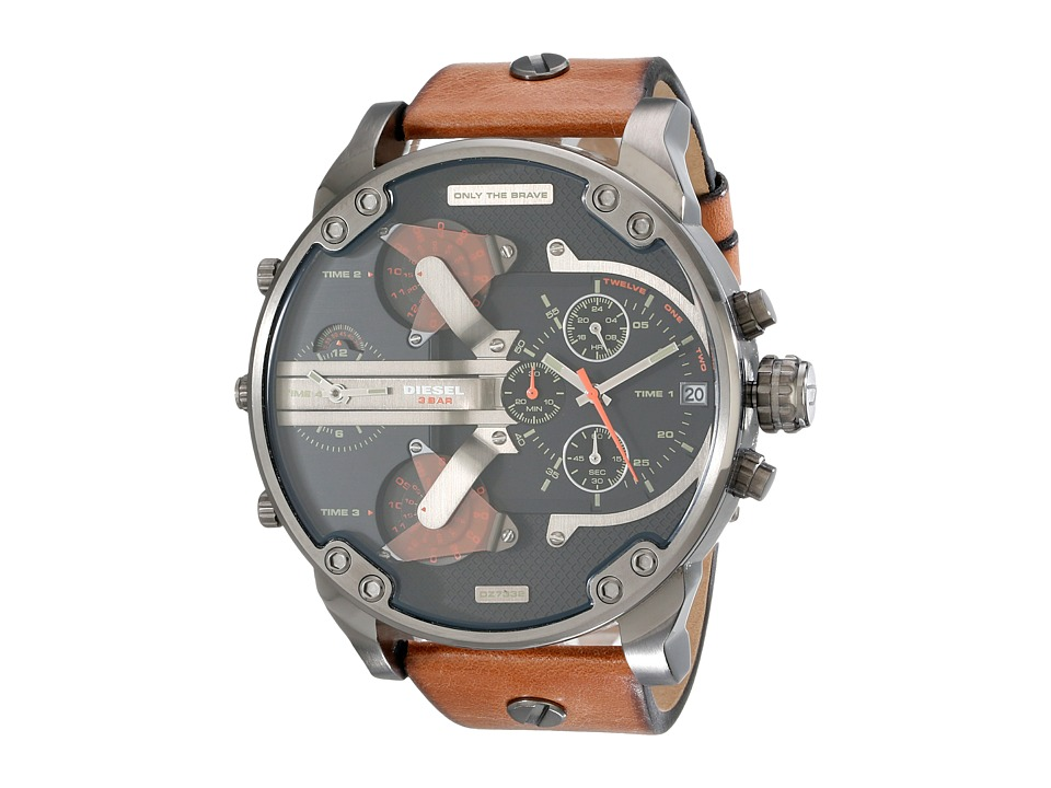 Diesel Mr. Daddy 2.0 Brown Watches