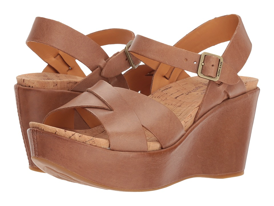 Kork Ease Ava 2.0 Golden Sand Womens Wedge Shoes