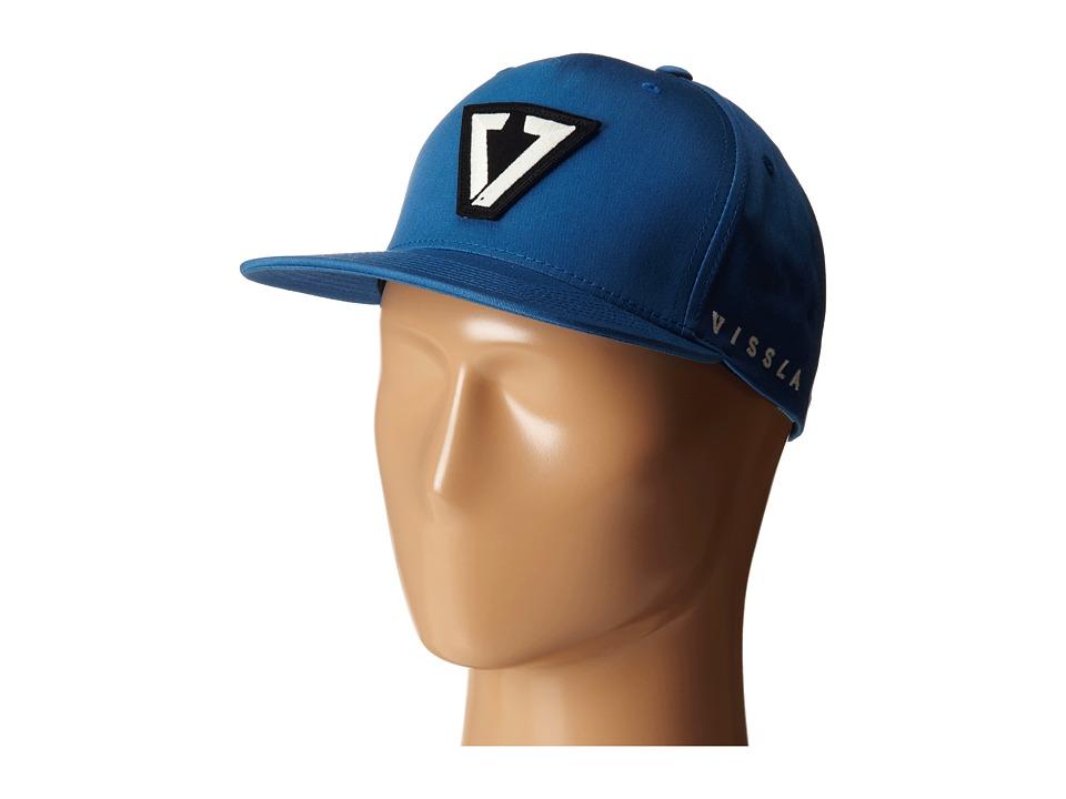VISSLA Calipher Hat Slate Caps