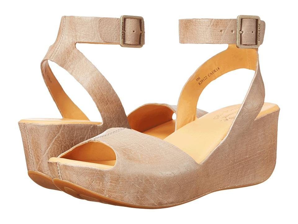 Kork Ease Carolyne VaporGrey Womens Wedge Shoes