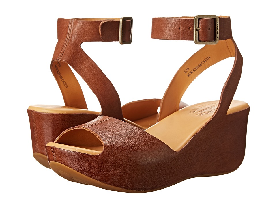 Kork Ease Carolyne Golden Sand Womens Wedge Shoes