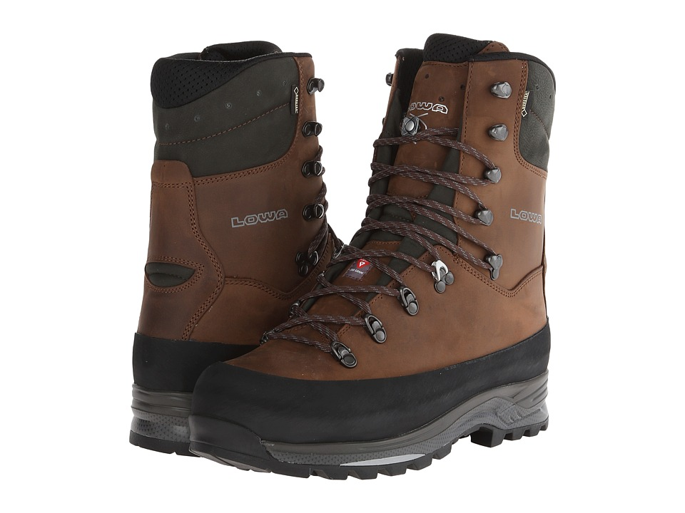 Lowa Hunter GTX Evo Extreme Anthracite/Brown Mens Shoes