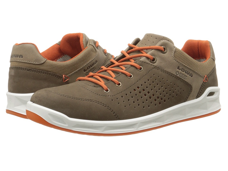 Lowa - San Francisco GTX (Brown/Orange) Mens Shoes