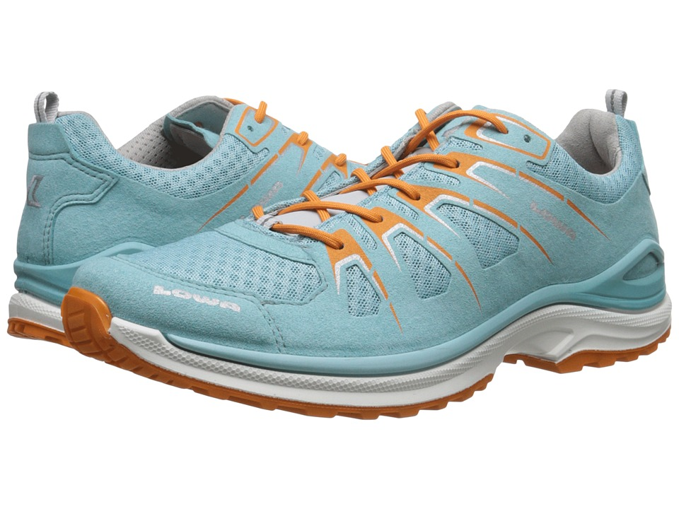 Lowa Innox EVO Aquamarine/Orange Womens Shoes