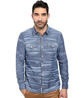 Buffalo David Bitton - Siqul L/S Bleach Effect Chambray Woven Shirt