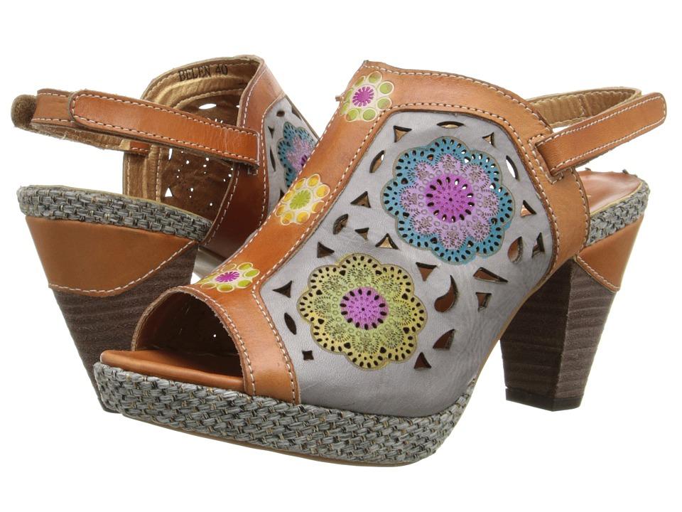 Spring Step Belen Camel Womens Sandals