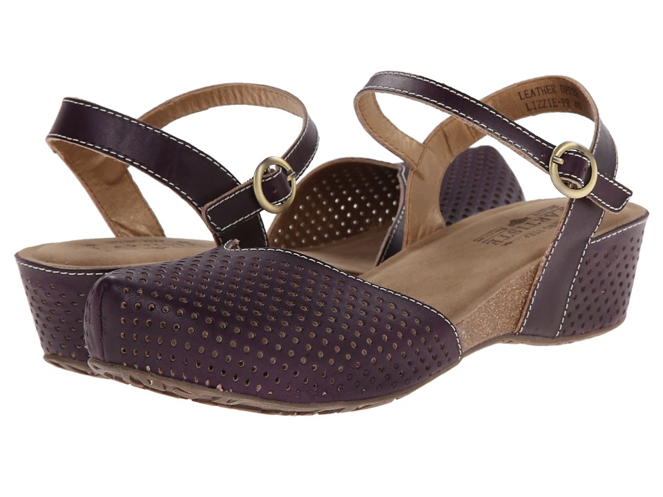 LArtiste by Spring Step - Lizzie (Purple) Womens Sandals