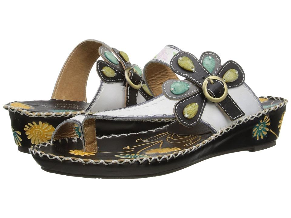 L'Artiste by Spring Step Santorini (White) Sandals