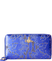 Vivienne Westwood - Metallic Zip-Around Wallet
