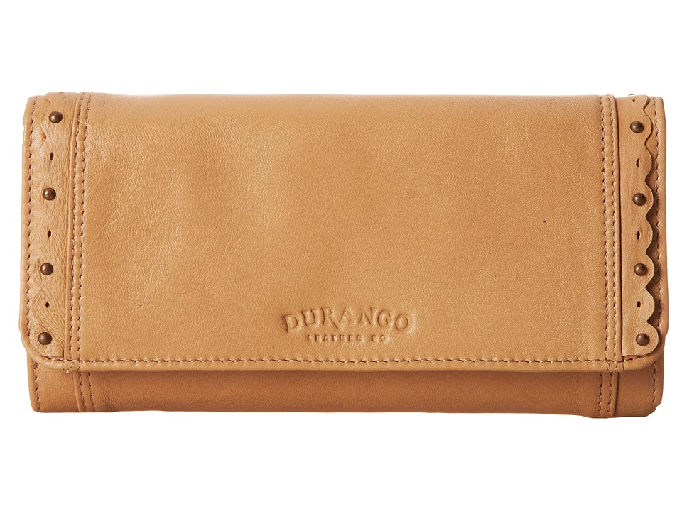 Durango Belle Starr Wallet Tan Wallet Handbags