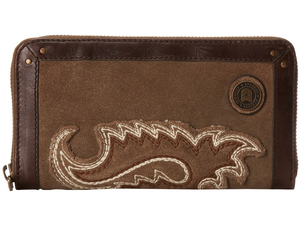 Durango Spring Bear Wallet Tan Wallet Handbags
