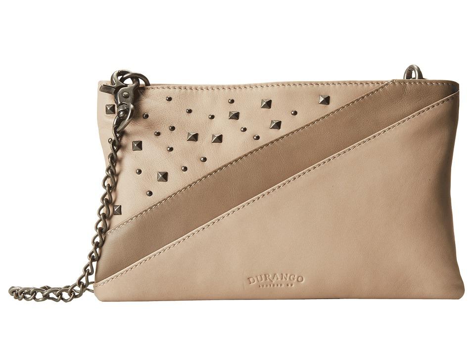 Durango - Demi Monde Clutch (White) Clutch Handbags