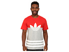 adidas Originals Color Block Trefoil Tee