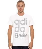 adidas Originals - Reverse Print Wrap Logo Tee