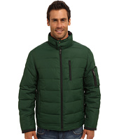 Rainforest - Poly Cire Quilted Bomber