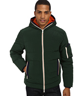 Rainforest - Quilted Bomber w/ Hood