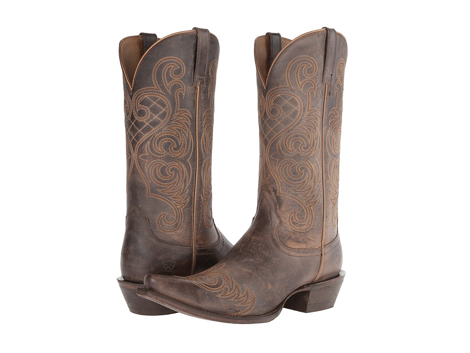 Ariat - Bright Lights (Old West Brown) Cowboy Boots