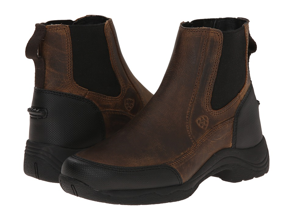 Image of Ariat English Kids - Terrain Johd (Little Kid/Big Kid) (Distressed Brown) Cowboy Boots