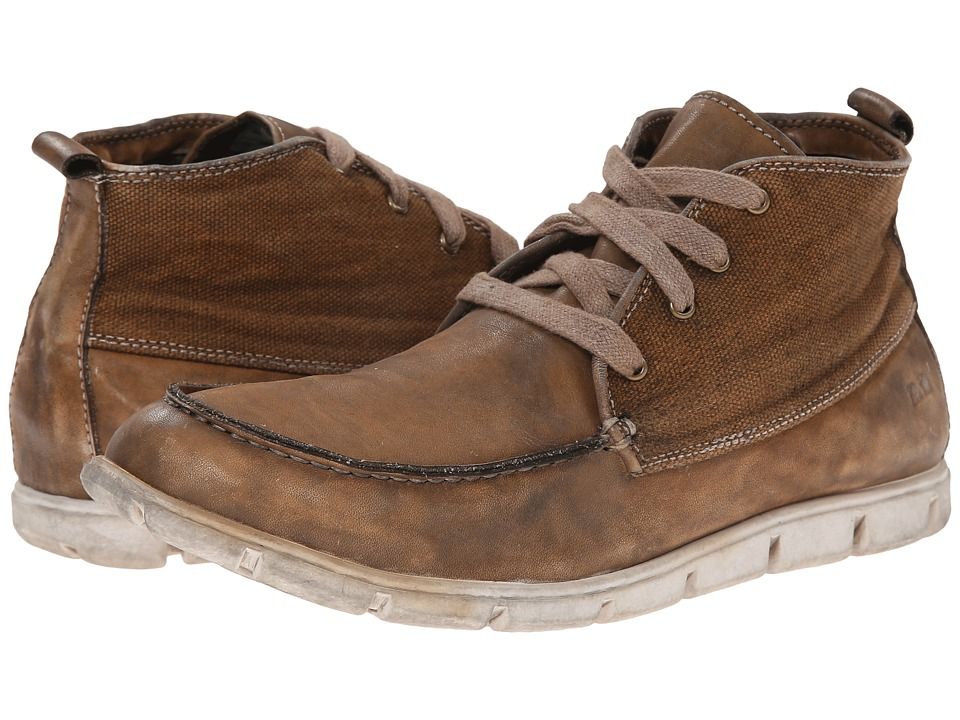 Bed Stu - Telluride (Brown Rust Garment Dye Canvas) Men