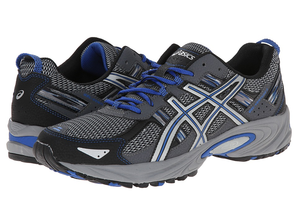 ASICS Gel-Venture 5 (Silver/Light Grey/Royal) Men