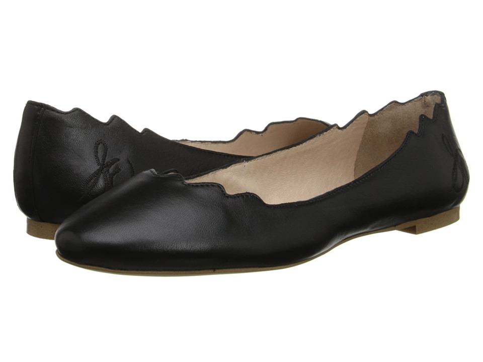 Sam Edelman Augusta Black Womens Flat Shoes