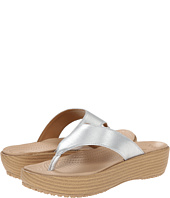 Crocs - A-Leigh Brushed Metallic Flip