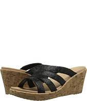 Crocs - A-Leigh Snake Pattern Sandal Wedge